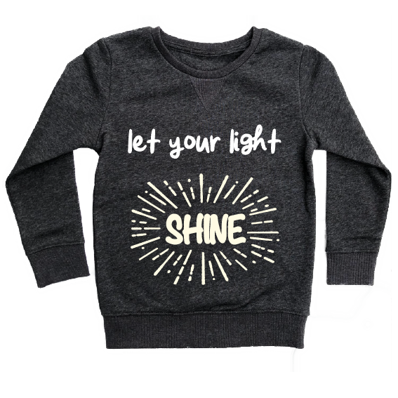et Your Light Shine Crew Neck Jumper